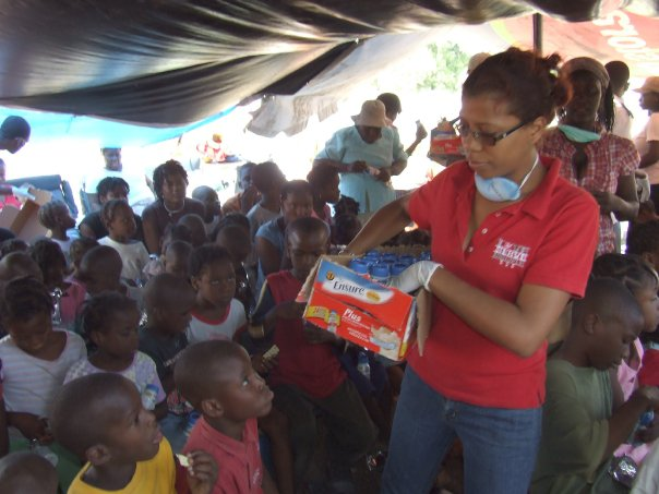 Salvation Army Brings Relief to Haiti