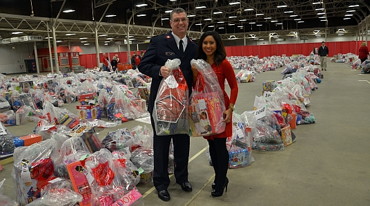 The Salvation Army's Indianapolis Angel Tree distribution was held on December 15, 2015. Click here to view more photos of the event.
