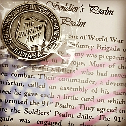 91st Psalm medallion and story