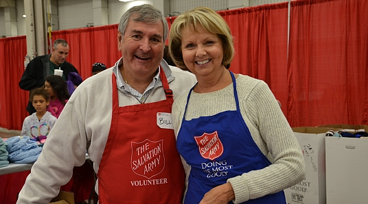 Did you know that over 3.3 million volunteers helped The Salvation Army do the most good in the U.S. last year?